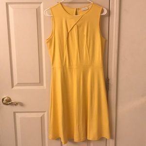 New York & Company Yellow Dress